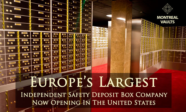 safety deposit boxes Montral